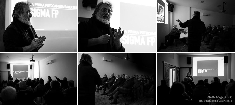 Sigma fp Day a Pescara. Workshop di Rino Giardiello