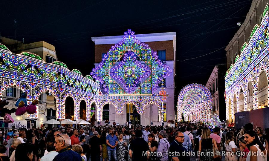 Matera, festa della Bruna. Foto ©Rino Giardiello