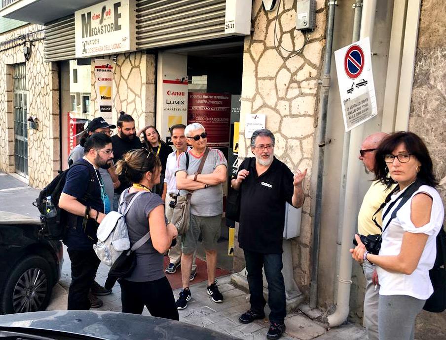 Matera, Sigma Day presso Cine Sud. Workshop di Rino Giardiello
