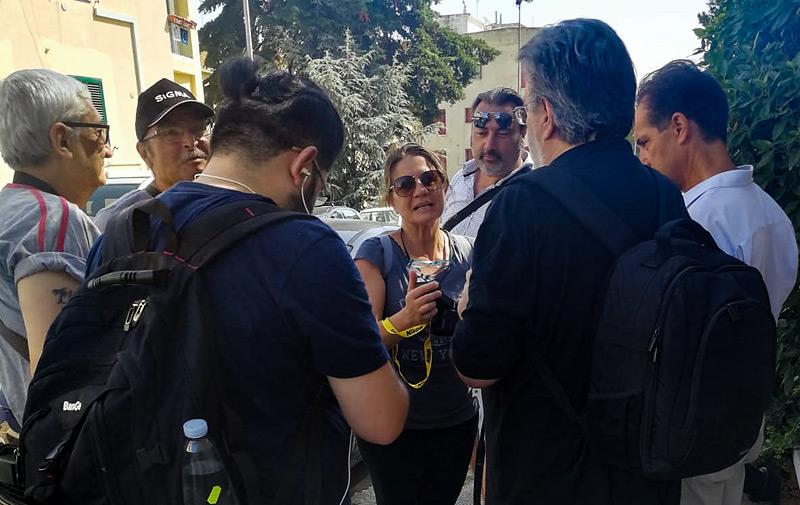 Matera, workshop Rino Giardiello