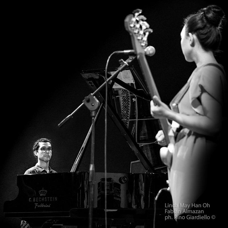 Linda May Han Oh & Fabian Almazan © Rino Giardiello